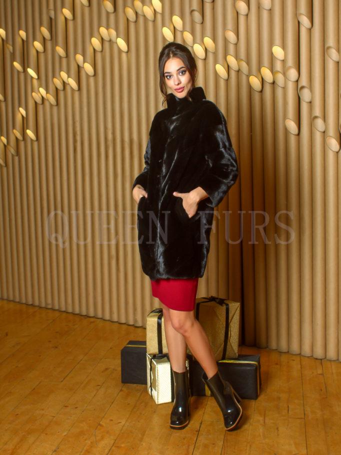 Жакет из меха аукционной норки - купить в Москве