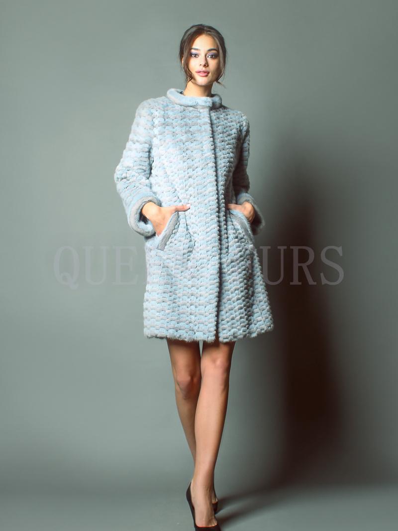 Модное полупальто итальянского бренда - купить в Москве